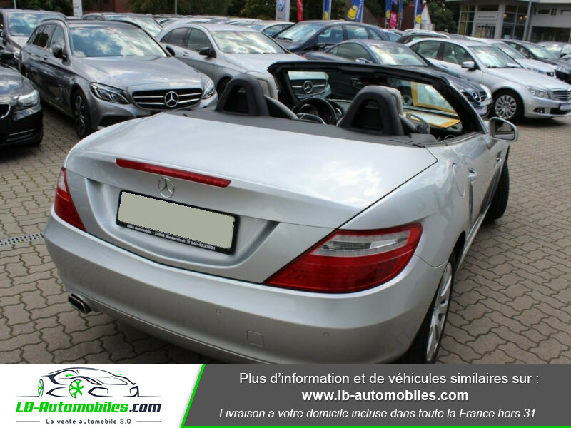 Mercedes Classe SLK 250 250 CDI Gris occasion à Beaupuy - photo n°3