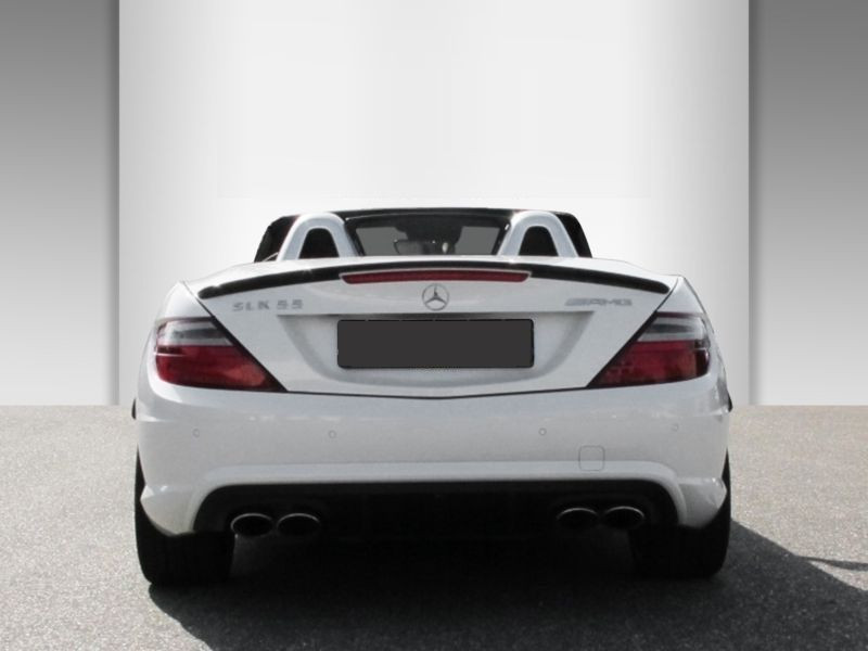 Mercedes Classe SLK 55 AMG 55 AMG Carbon Look Edition Blanc occasion à Beaupuy - photo n°9