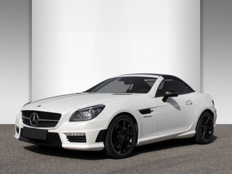 Mercedes Classe SLK 55 AMG 55 AMG Carbon Look Edition Blanc occasion à Beaupuy