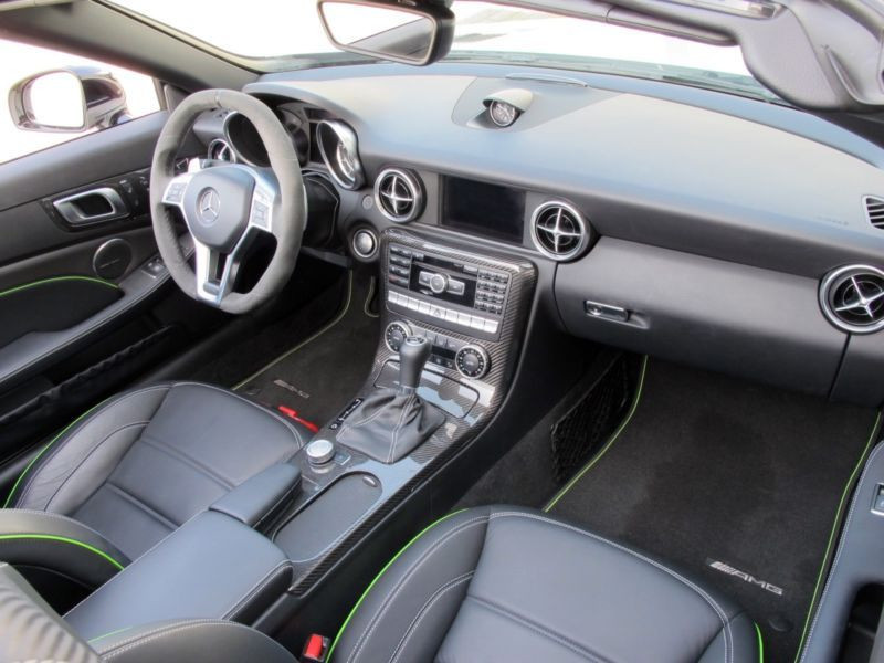 Mercedes Classe SLK 55 AMG 55 AMG Carbon Look Edition Blanc occasion à Beaupuy - photo n°2
