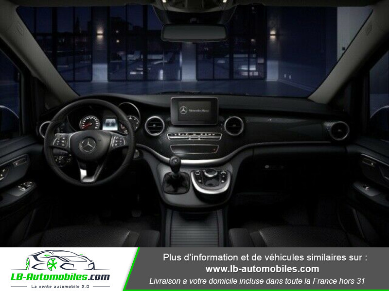 Mercedes Classe V 200 d Bleu occasion à Beaupuy - photo n°2