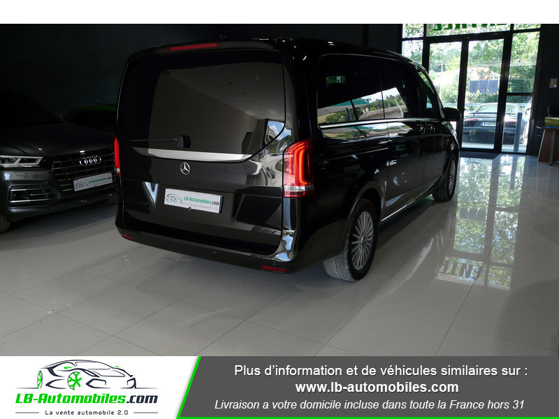 Mercedes Classe V LONG 250 204 BLUETEC AVANTGARDE AUTO 8PL Noir occasion à Beaupuy - photo n°3