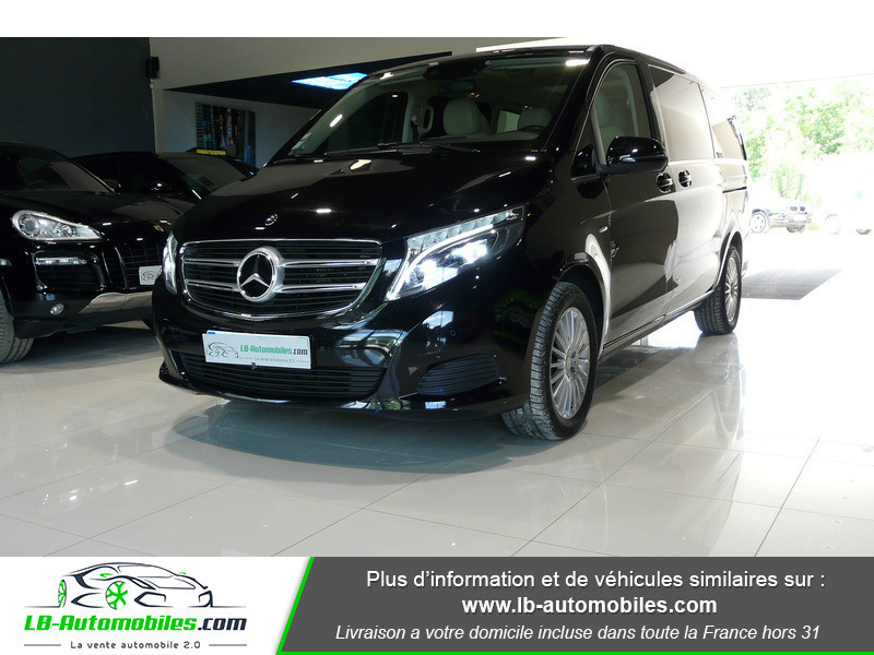 Mercedes Classe V LONG 250 204 BLUETEC AVANTGARDE AUTO 8PL Noir occasion à Beaupuy
