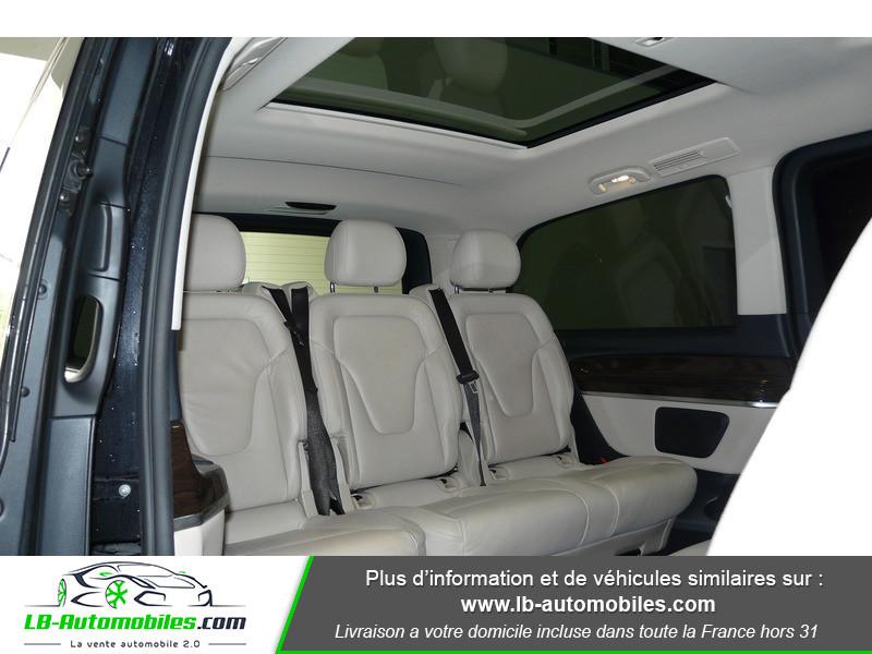 Mercedes Classe V LONG 250 204 BLUETEC AVANTGARDE AUTO 8PL Noir occasion à Beaupuy - photo n°8