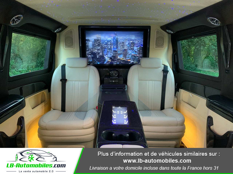 Mercedes Classe V VIP Extra-Long 220 d 9G-TRONIC Noir occasion à Beaupuy - photo n°6
