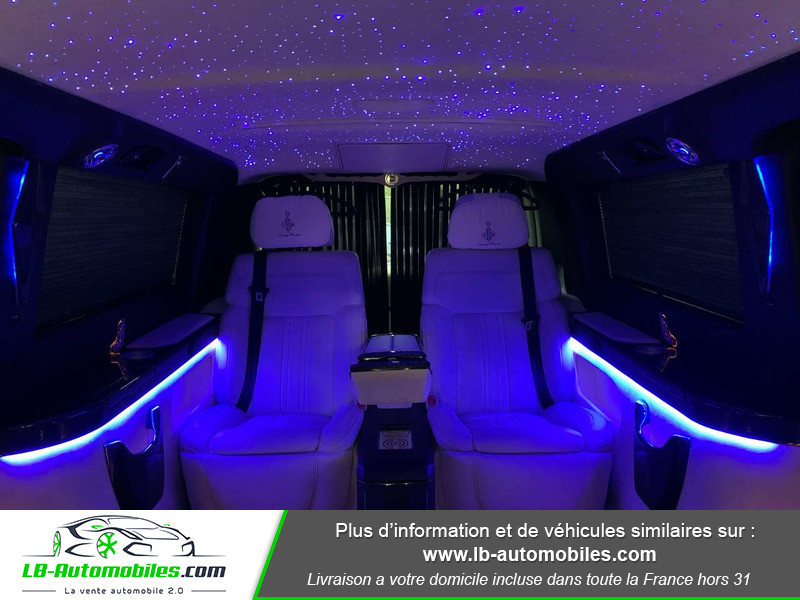 Mercedes Classe V VIP Extra-Long 220 d 9G-TRONIC Noir occasion à Beaupuy - photo n°12