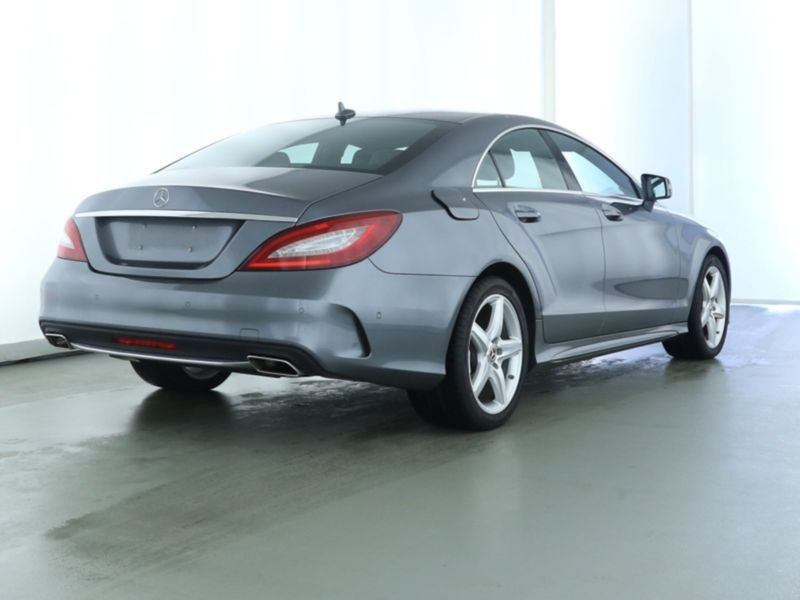 Mercedes CLS 220 CDI Shooting Brake AMG Gris occasion à Beaupuy - photo n°3