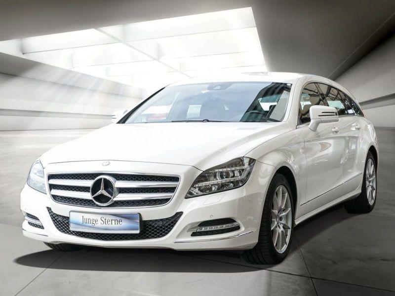 Mercedes CLS 350 CDI Shooting Brake Blanc occasion à Beaupuy