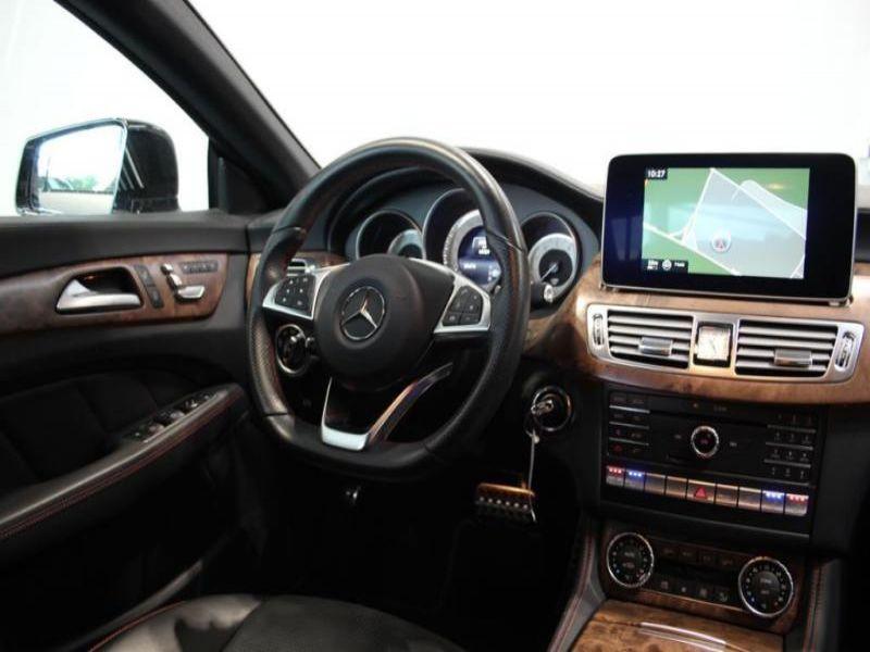Mercedes CLS 400 AMG Argent occasion à Beaupuy - photo n°7