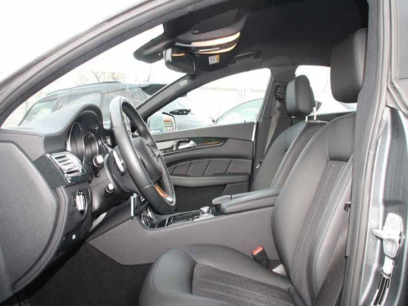 Mercedes CLS 400 Gris occasion à Beaupuy - photo n°4
