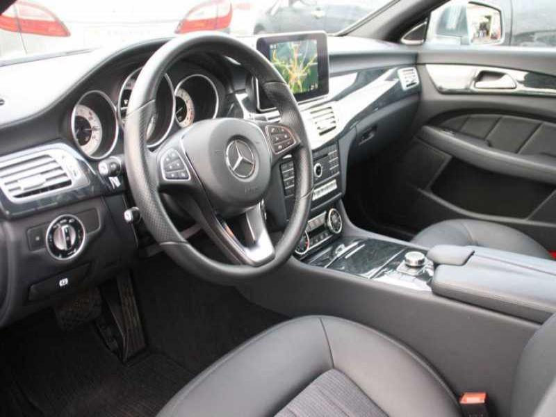 Mercedes CLS 400 Gris occasion à Beaupuy - photo n°7