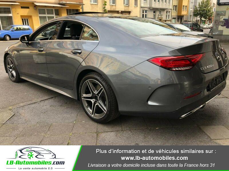 Mercedes CLS 400d 4Matic 9G-Tronic / AMG Gris occasion à Beaupuy - photo n°9