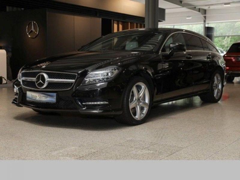 Mercedes CLS 500 Shooting Brake 4 Matic AMG Noir occasion à Beaupuy