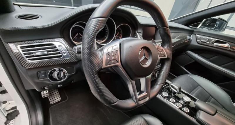 Mercedes CLS 63S AMG SHOOTING BRAKE 4matic 5.5 V8 BI-TURBO 585CH Blanc occasion à MONTBRISON - photo n°6