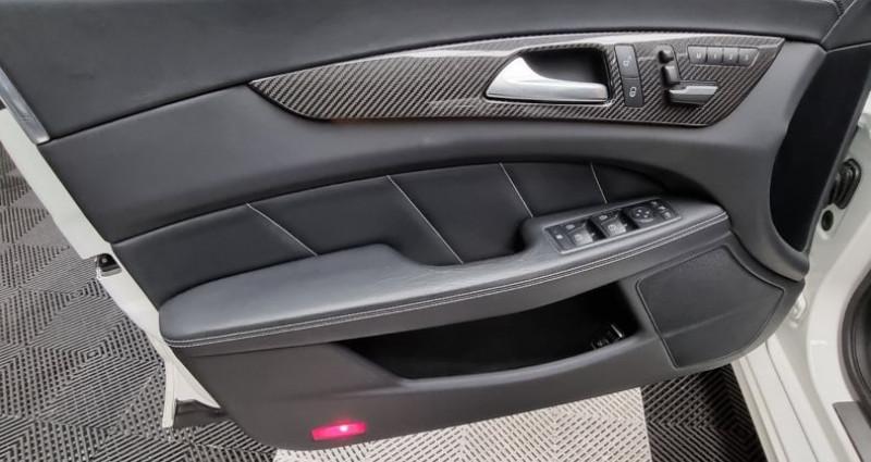 Mercedes CLS 63S AMG SHOOTING BRAKE 4matic 5.5 V8 BI-TURBO 585CH Blanc occasion à MONTBRISON - photo n°4