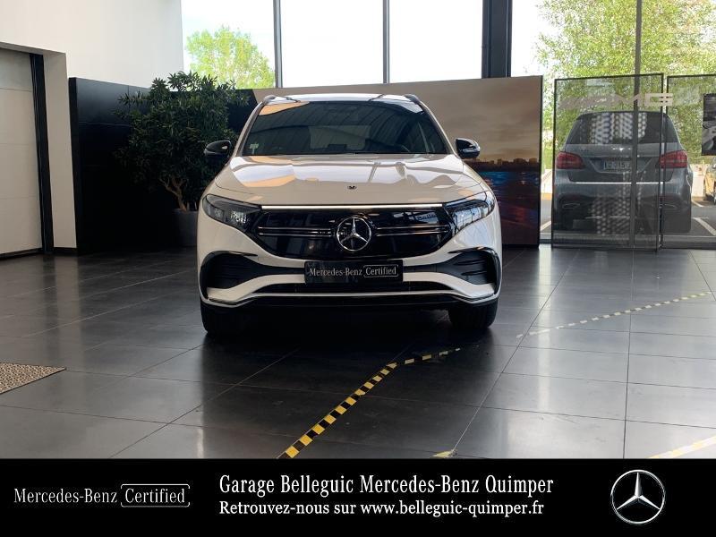 Mercedes EQA 250 190ch AMG Line Blanc occasion à QUIMPER - photo n°5