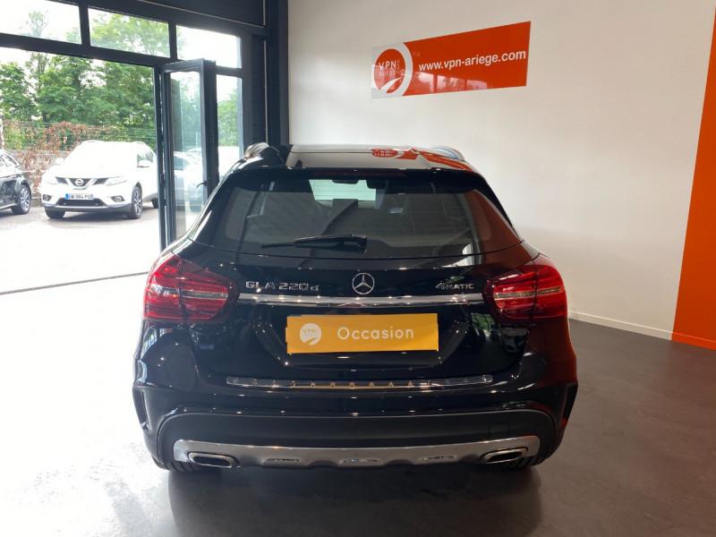 Mercedes GLA (X156) 220 D 170CH FASCINATION 4MATIC 7G-DCT EURO6C Noir occasion à Foix - photo n°4