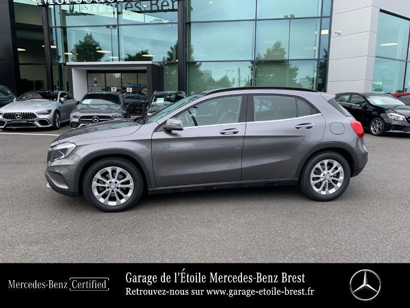 Mercedes GLA 180 d Inspiration 7G-DCT Gris occasion à BREST - photo n°2