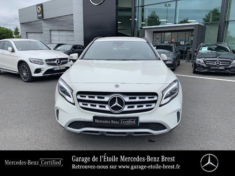 Mercedes GLA 180 d Inspiration 7G-DCT Blanc occasion à BREST - photo n°5