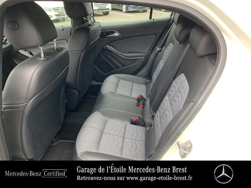 Mercedes GLA 180 d Inspiration 7G-DCT Blanc occasion à BREST - photo n°11