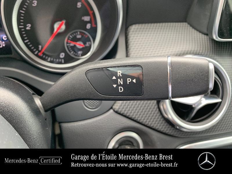 Mercedes GLA 180 d Inspiration 7G-DCT Blanc occasion à BREST - photo n°10