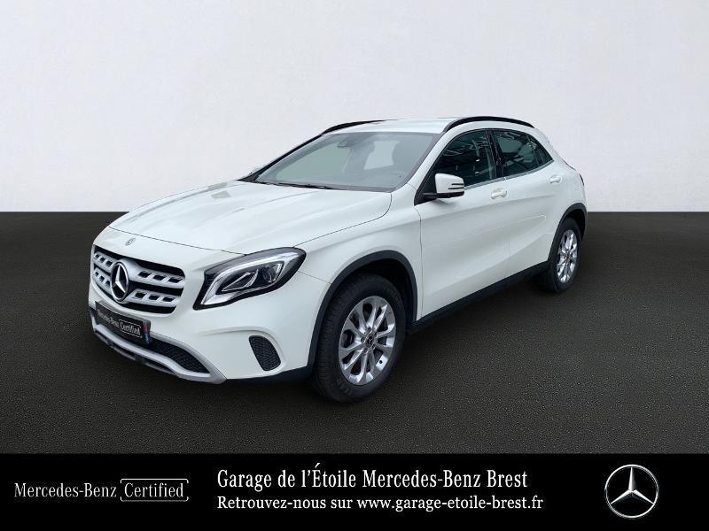 Mercedes GLA 180 d Inspiration 7G-DCT Blanc occasion à BREST