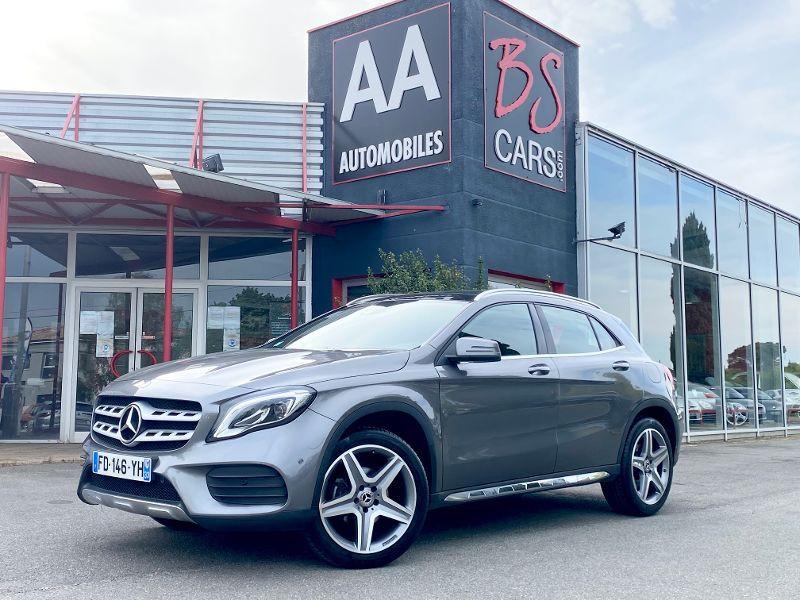 Mercedes GLA occasion 2019 mise en vente à Castelmaurou par le garage BS CARS.COM - photo n°1