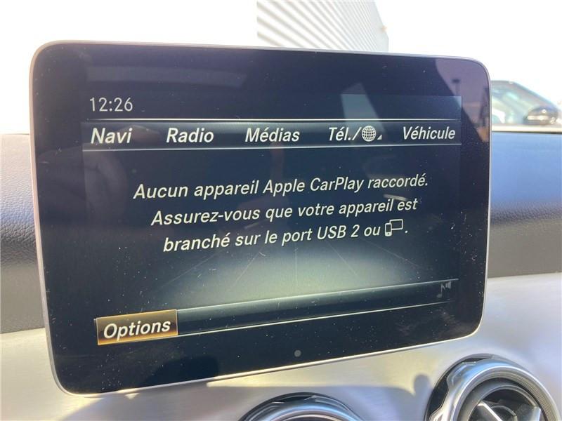Mercedes GLA 220 D 7-G DCT Fascination Noir occasion à MERIGNAC - photo n°16