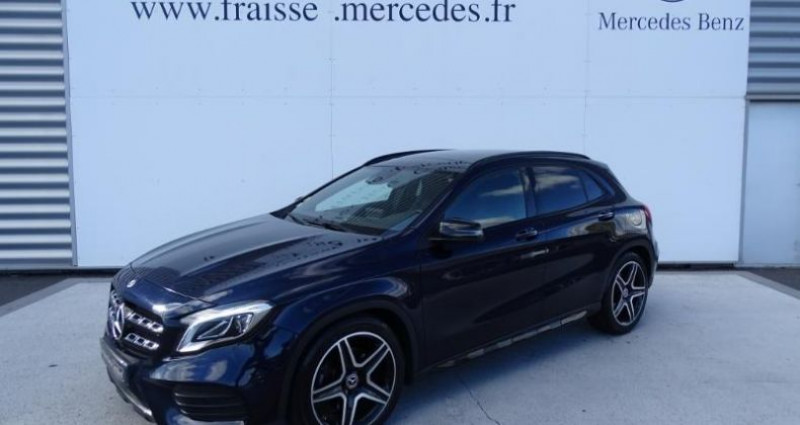 Mercedes GLA 220 d Fascination 4Matic 7G-DCT Bleu occasion à Saint-germain-laprade