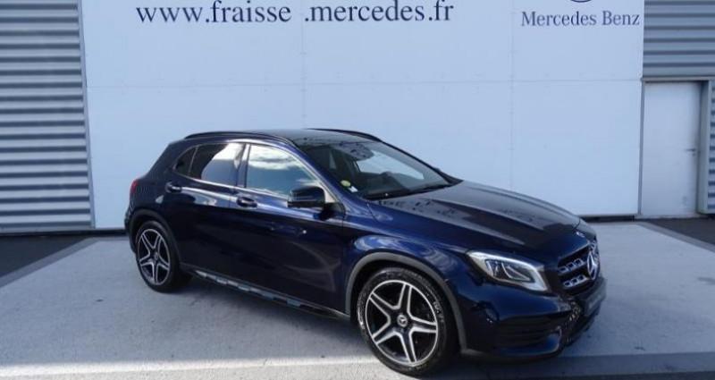 Mercedes GLA 220 d Fascination 4Matic 7G-DCT Bleu occasion à Saint-germain-laprade - photo n°2