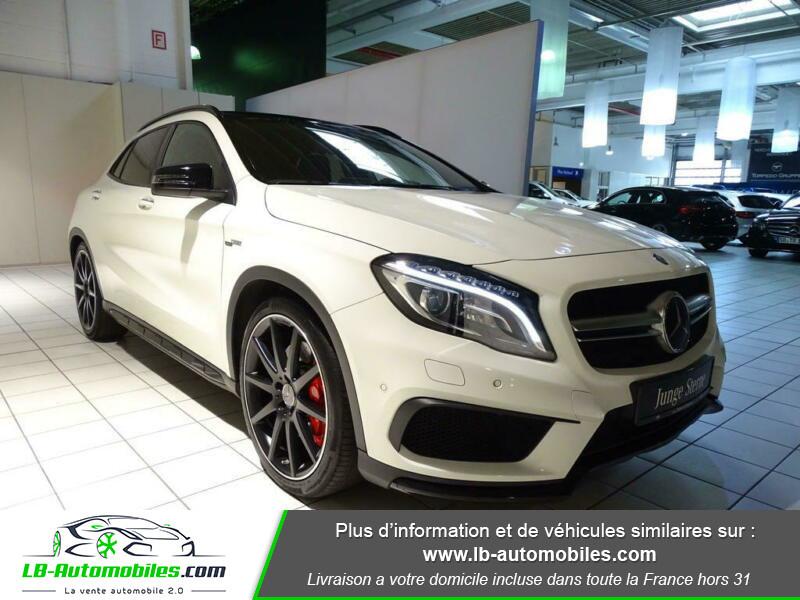 Mercedes GLA 45 AMG 4-Matic Blanc occasion à Beaupuy - photo n°10