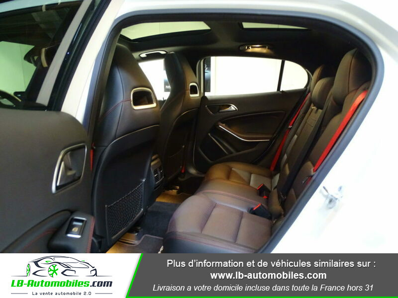 Mercedes GLA 45 AMG 4-Matic Blanc occasion à Beaupuy - photo n°8