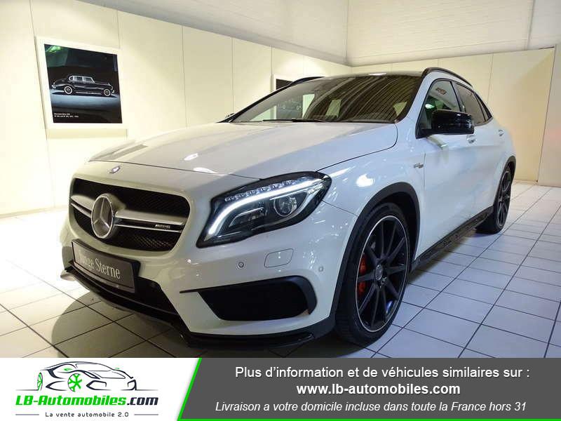 Mercedes GLA 45 AMG 4-Matic Blanc occasion à Beaupuy - photo n°1