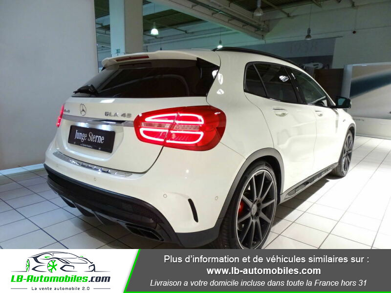 Mercedes GLA 45 AMG 4-Matic Blanc occasion à Beaupuy - photo n°3