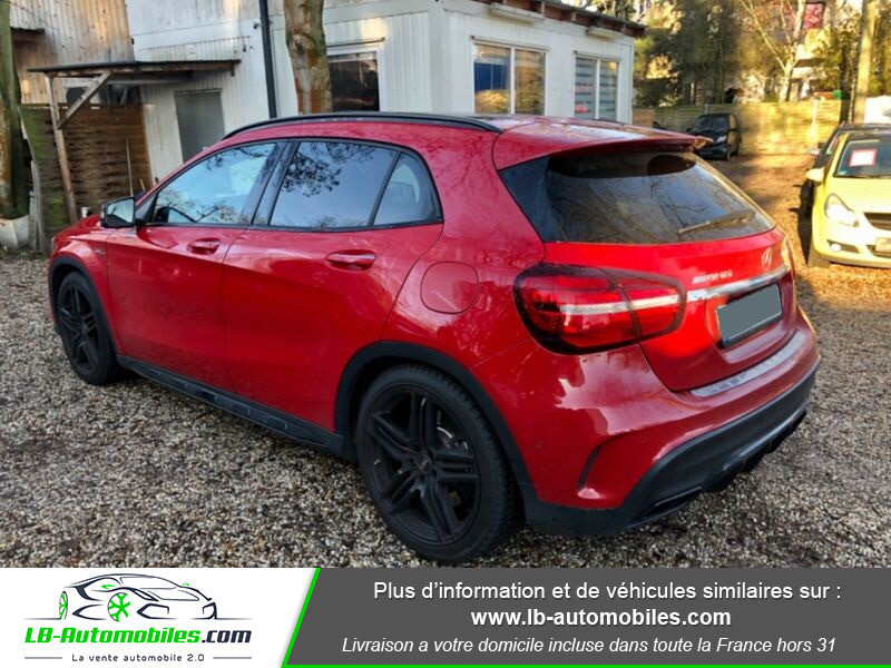 Mercedes GLA 45 AMG 4-Matic Rouge occasion à Beaupuy - photo n°3
