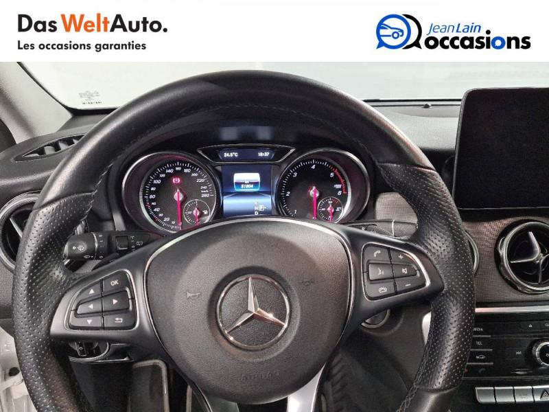 Mercedes GLA GLA 220 d 7-G DCT Sensation 5p Blanc occasion à La Motte-Servolex - photo n°12