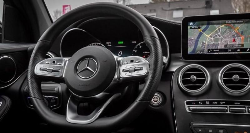Mercedes GLC 200 4MATIC AMG Noir occasion à Montévrain - photo n°3