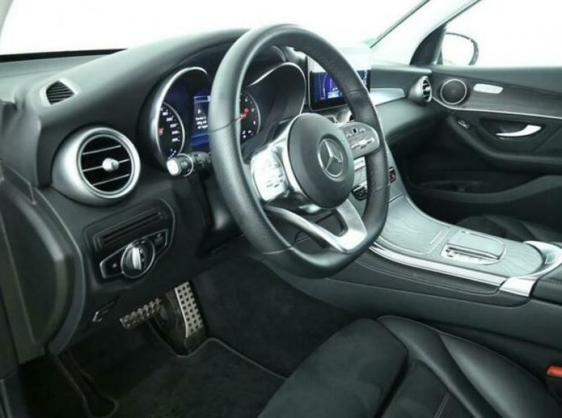 Mercedes GLC 200 D 163CH AMG LINE 9G-TRONIC Noir occasion à Villenave-d'Ornon - photo n°6