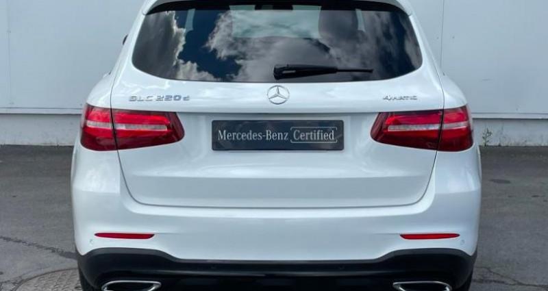 Mercedes GLC 220 d 170ch Sportline 4Matic 9G-Tronic Euro6c Blanc occasion à Cambrai - photo n°5