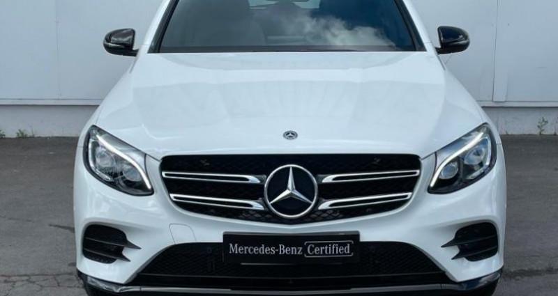 Mercedes GLC 220 d 170ch Sportline 4Matic 9G-Tronic Euro6c Blanc occasion à Cambrai - photo n°4