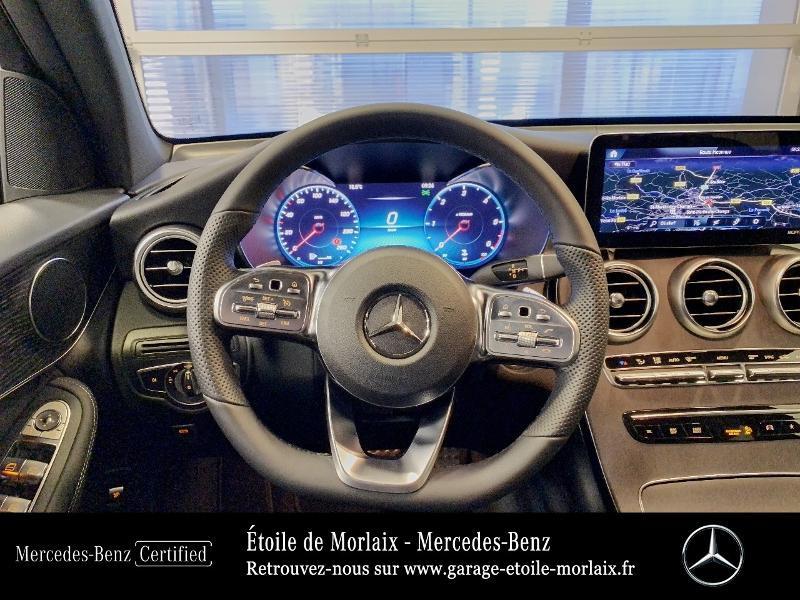 Mercedes GLC 220 d 194ch AMG Line 4Matic 9G-Tronic Blanc occasion à Saint Martin des Champs - photo n°7