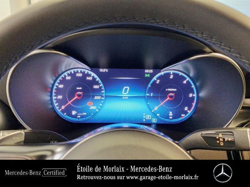 Mercedes GLC 220 d 194ch AMG Line 4Matic 9G-Tronic Blanc occasion à Saint Martin des Champs - photo n°9