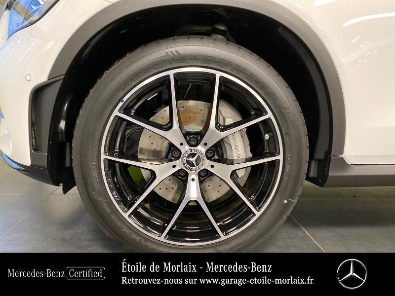 Mercedes GLC 220 d 194ch AMG Line 4Matic 9G-Tronic Blanc occasion à Saint Martin des Champs - photo n°14