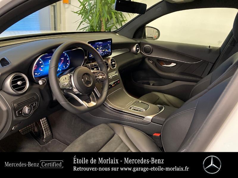 Mercedes GLC 220 d 194ch AMG Line 4Matic 9G-Tronic Blanc occasion à Saint Martin des Champs - photo n°17
