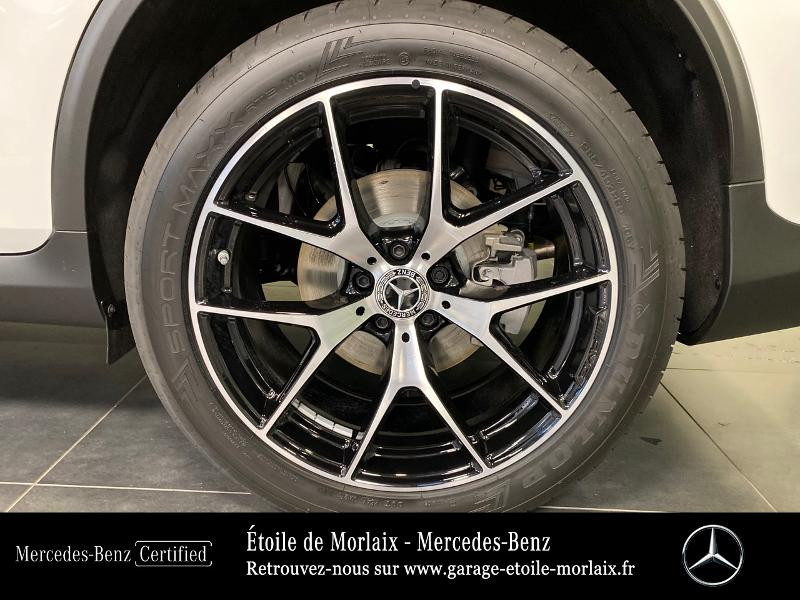 Mercedes GLC 220 d 194ch AMG Line 4Matic 9G-Tronic Blanc occasion à Saint Martin des Champs - photo n°16