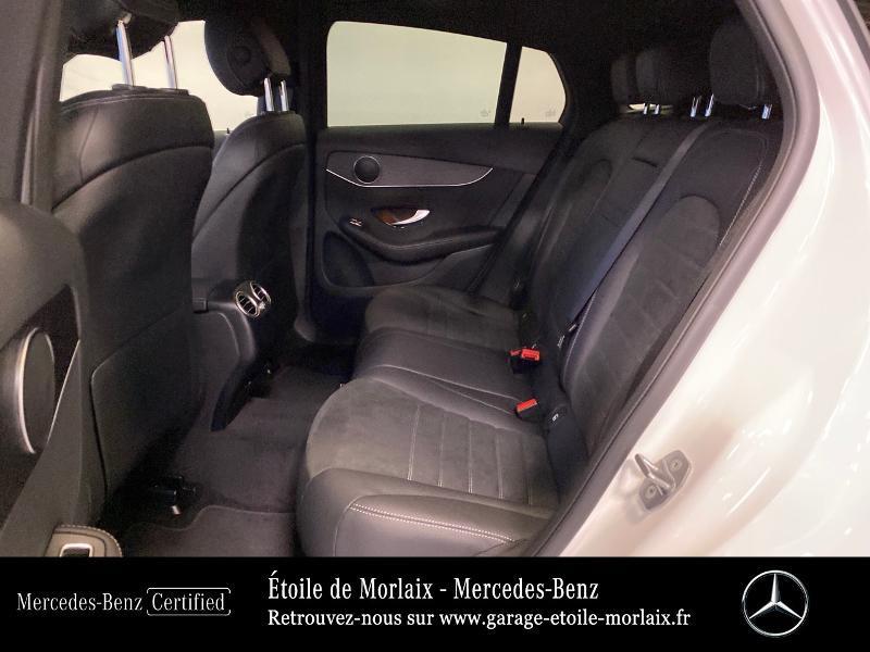 Mercedes GLC 220 d 194ch AMG Line 4Matic 9G-Tronic Blanc occasion à Saint Martin des Champs - photo n°11