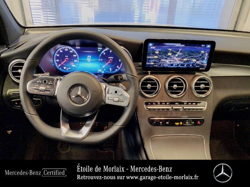 Mercedes GLC 220 d 194ch AMG Line 4Matic 9G-Tronic Blanc occasion à Saint Martin des Champs - photo n°6