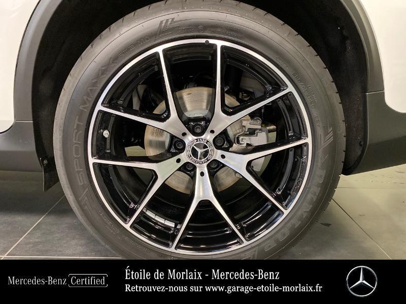 Mercedes GLC 220 d 194ch AMG Line 4Matic 9G-Tronic Blanc occasion à Saint Martin des Champs - photo n°13