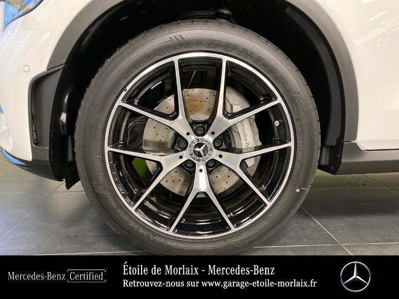Mercedes GLC 220 d 194ch AMG Line 4Matic 9G-Tronic Blanc occasion à Saint Martin des Champs - photo n°15