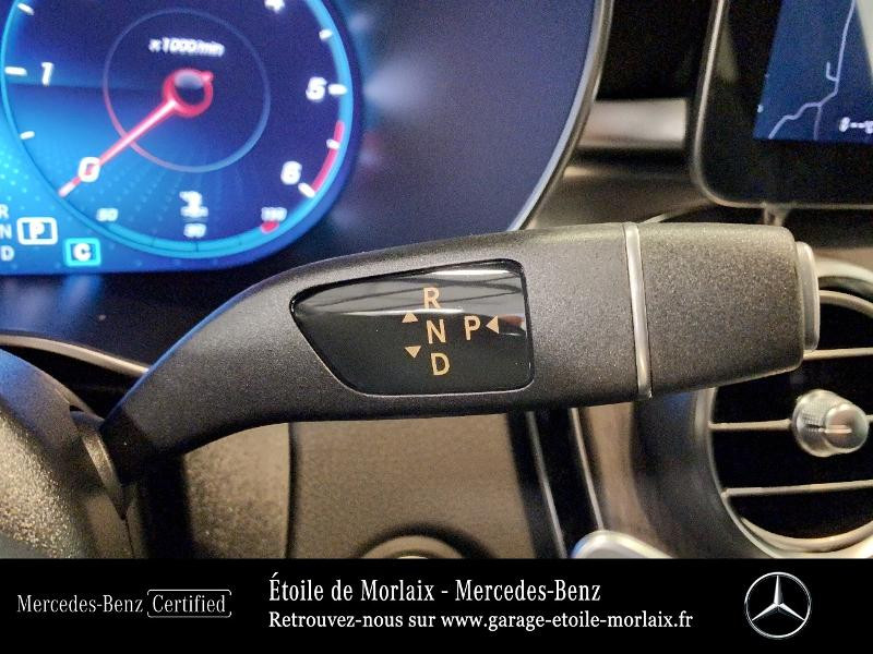 Mercedes GLC 220 d 194ch AMG Line 4Matic 9G-Tronic Blanc occasion à Saint Martin des Champs - photo n°10